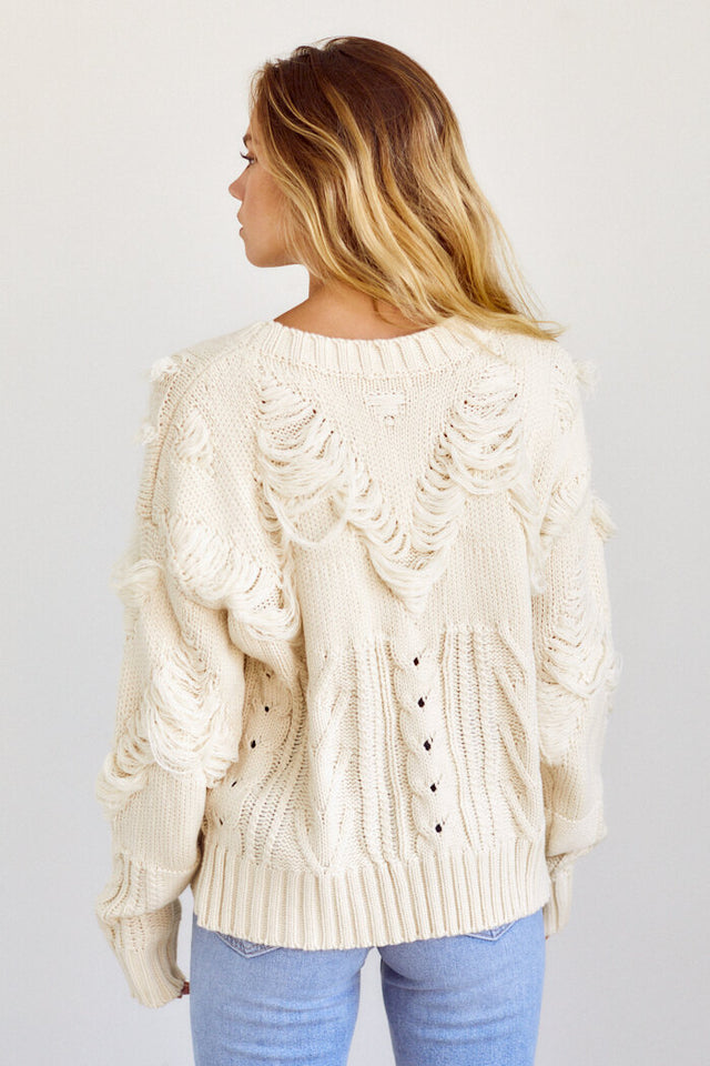 PreOrder Ainsley Fringe Sweater
