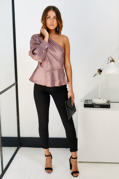 fab'rik - Maddison One Shoulder Blouse image thumbnail