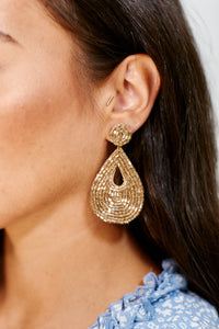 fab'rik - Beaded Teardrop Earrings ProductImage-11459048308794