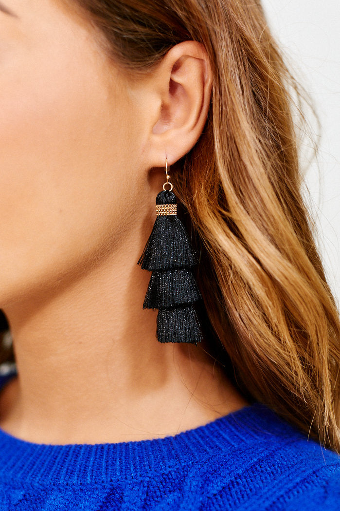 fab'rik - Layered Tassel Earrings ProductImage-11456050364474