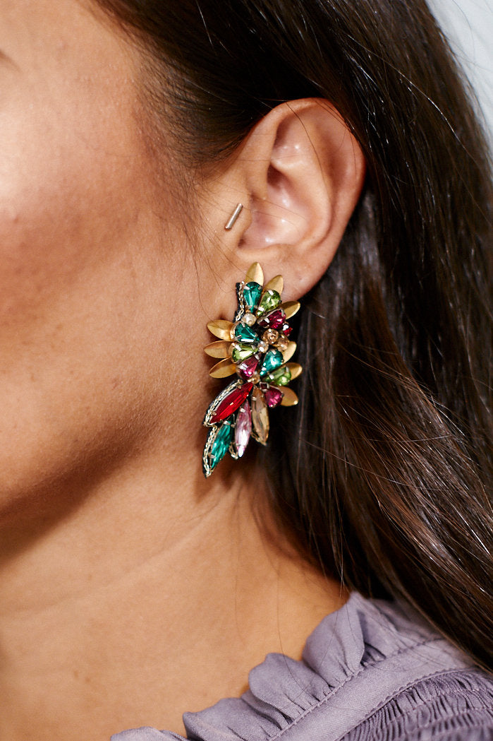 fab'rik - Multi Bead Marquise Wing Earrings ProductImage-11456042795066