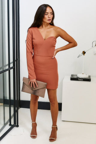 Tinsley One Shoulder Cocktail Dress