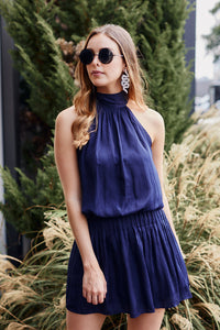 Eloise Tie Neck Dress