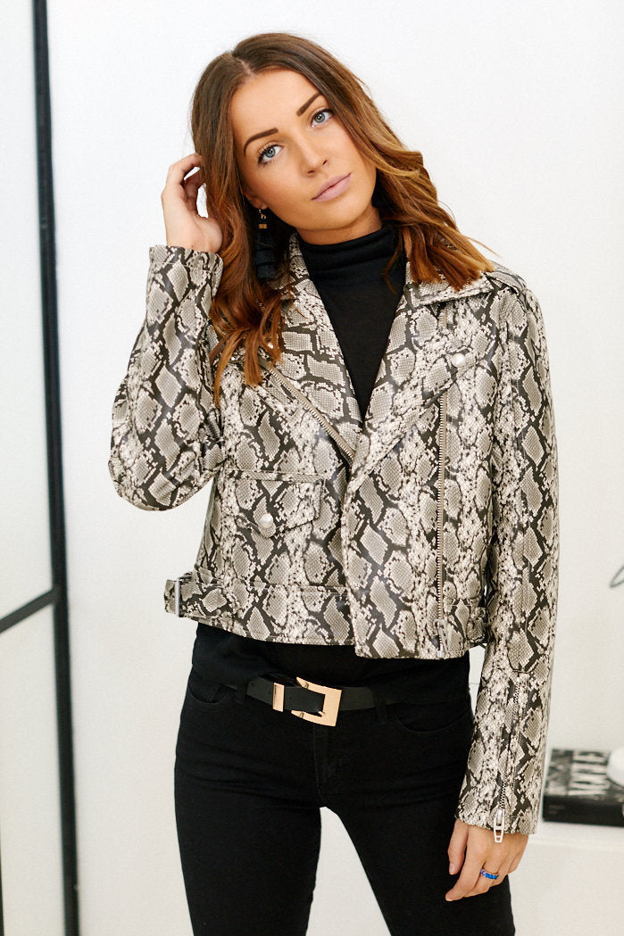fab'rik - PreOrder Blank NYC Breakaway Faux Leather Snake Jacket ProductImage-11464510734394