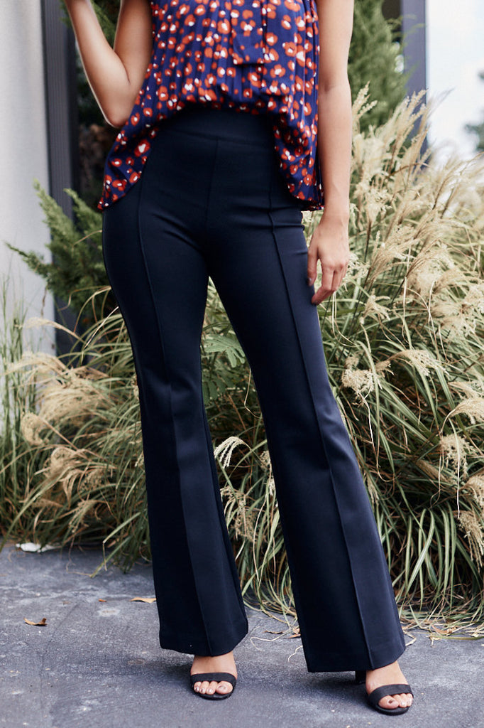 Spanx Ponte High Rise Flare Trousers