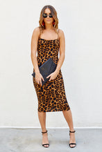 Load image into Gallery viewer, Asher Caroline Leopard Midi Dress