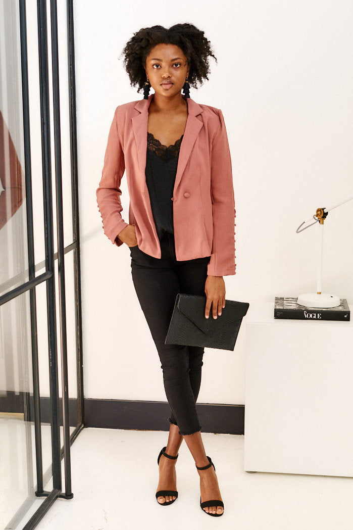 fab'rik - June Button Detail Blazer ProductImage-11453685366842