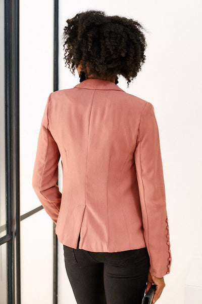 fab'rik - June Button Detail Blazer image thumbnail