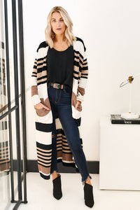 fab'rik - Asher Jane Striped Cardigan ProductImage-11480544313402