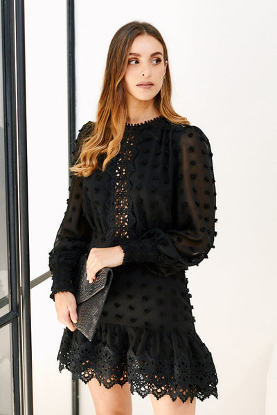 fab'rik - Perry Long Sleeve Dress image thumbnail