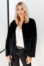 Load image into Gallery viewer, Charlotte Faux Fur Jacket