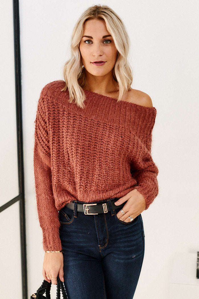 fab'rik - Wynwood Off the Shoulder Sweater ProductImage-11464517550138