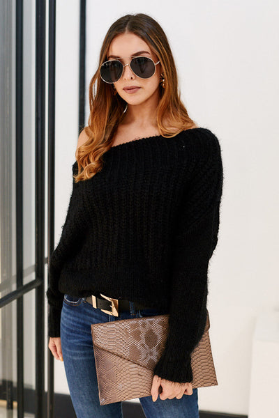 fab'rik - Wynwood Off the Shoulder Sweater image thumbnail