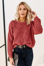 Load image into Gallery viewer, Jeni Cable Knit Sweater