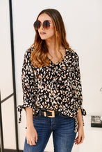 Load image into Gallery viewer, Melrose Hi Low Leopard Top