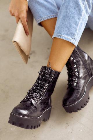 Staging Combat Boots