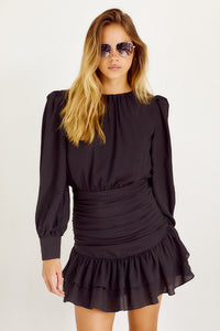 PreOrder Adair Ruffled Mini Dress