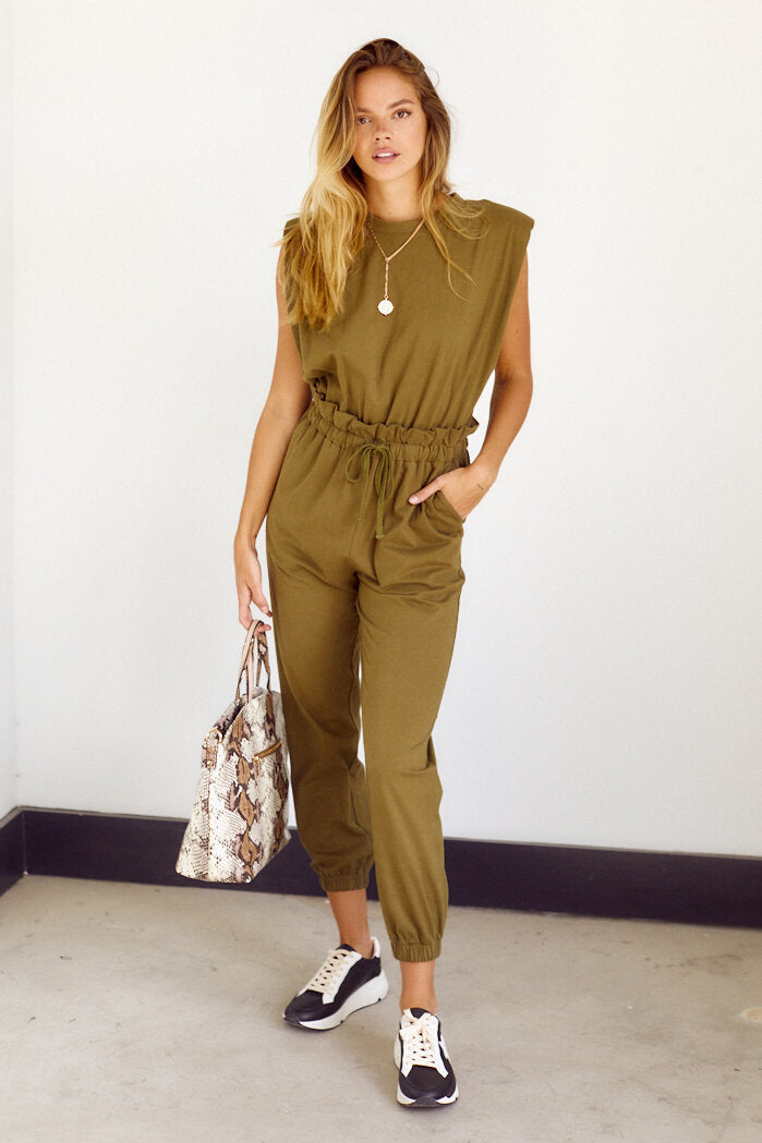 fab'rik - PreOrder Marah Shoulder Pad Jumpsuit ProductImage-14316089147450
