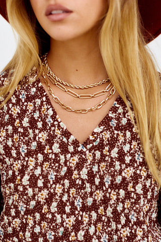 Montana Layered Chain Choker