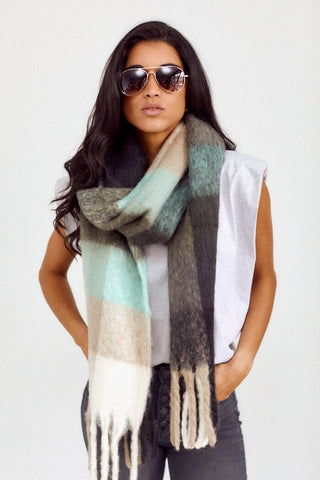 Hayden Color Block Scarf