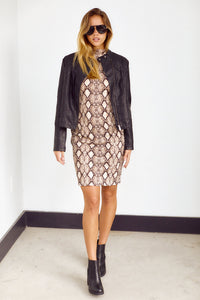 Jenne Long Sleeve Dress