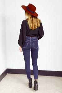 SALE - Jonie High Rise Ankle Skinny