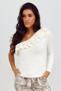PreOrder Perri One Shoulder Sweater