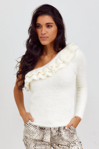PreOder Perri One Shoulder Sweater