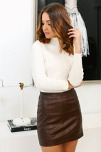 Load image into Gallery viewer, Haven Faux Leather Mini Skirt