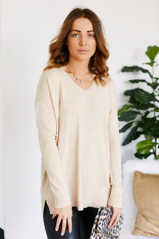 Juno V-Neck Sweater