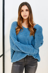 fab'rik - Charlee V-Neck Sweater ProductImage-11486118117434