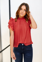 Load image into Gallery viewer, Adette Pleated Blouse