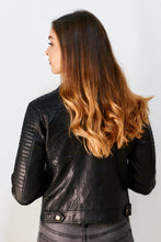 Load image into Gallery viewer, Bentley Faux Leather Jacket