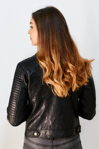 Bentley Faux Leather Jacket
