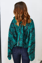 Load image into Gallery viewer, Langley Snake Print Bell Sleeve Top