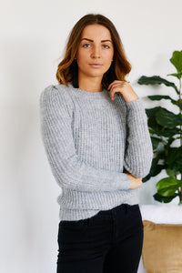 fab'rik - Lucia Puff Shoulder Sweater ProductImage-11494387351610