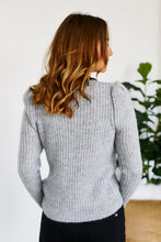 Load image into Gallery viewer, Lucia Puff Shoulder Sweater