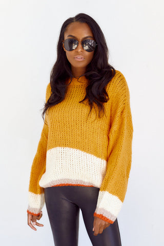 Yara Striped Sweater