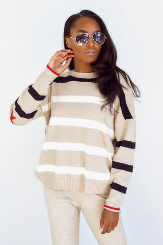 Alva Stripe Sweater