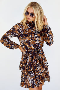 SALE - Leala Floral Mini Dress