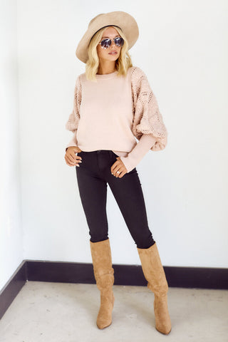 Marjie Puff Sleeve Sweater
