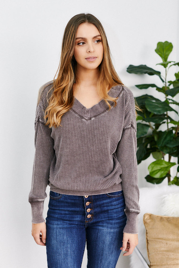 Z Supply Emilia Thermal Top