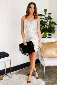 Monte Sequin Dress