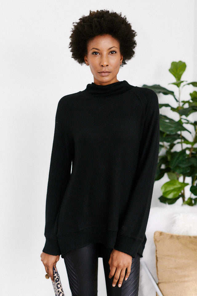 Z Supply Mock Neck Pullover