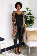 Load image into Gallery viewer, Maya Leopard Print Duster