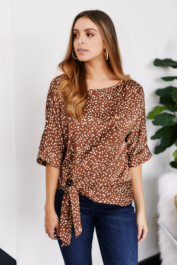 fab'rik - Liora Satin Printed Top ProductImage-13292172640314