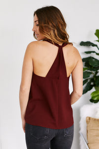 Zoelle Sleeveless Racerback Top