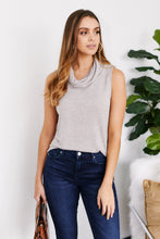Load image into Gallery viewer, Saunder Sleeveless Cowl Neck Top