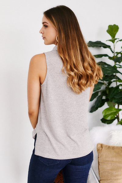 fab'rik - Saunder Sleeveless Cowl Neck Top image thumbnail