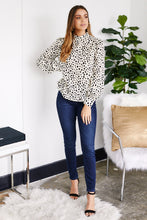 Load image into Gallery viewer, Cosette Polka Dot Blouse